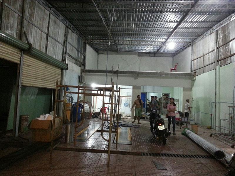 Hệ thống Tay Quay phun nước áp lực cao xoay 3600