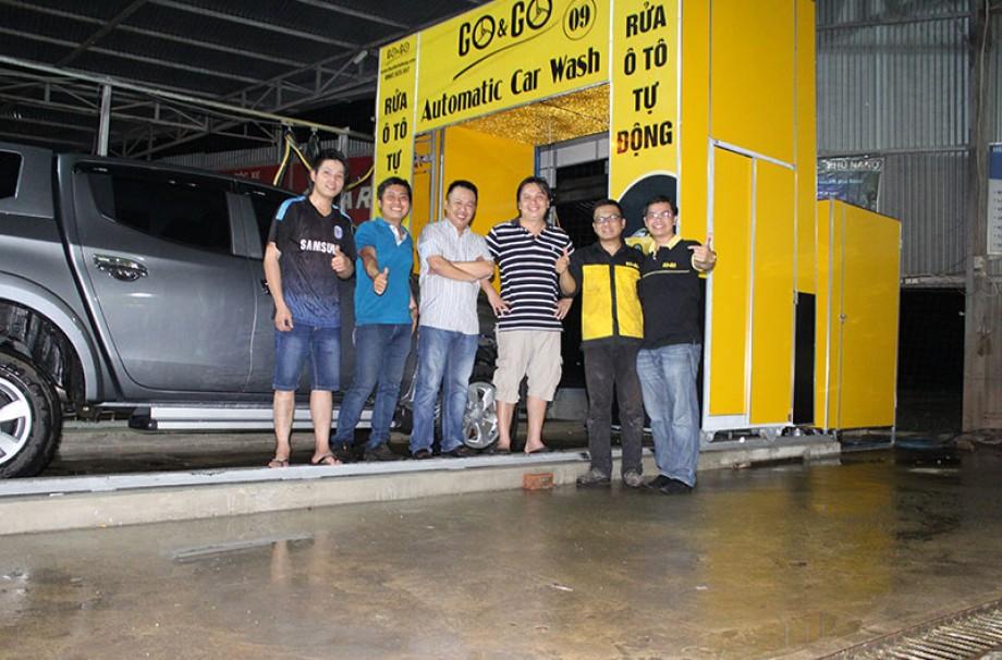 Lắp hệ thống rửa ô tô tự động tại tây ninh