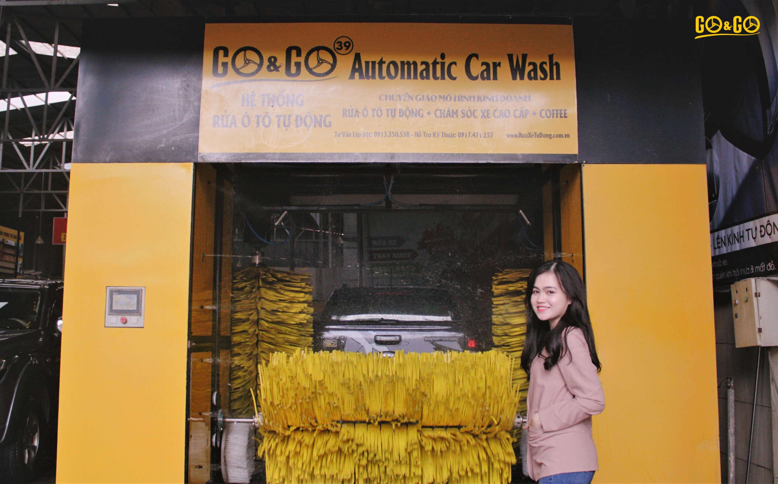 Hệ thống rửa xe ô tô hiện đại của GO&GO