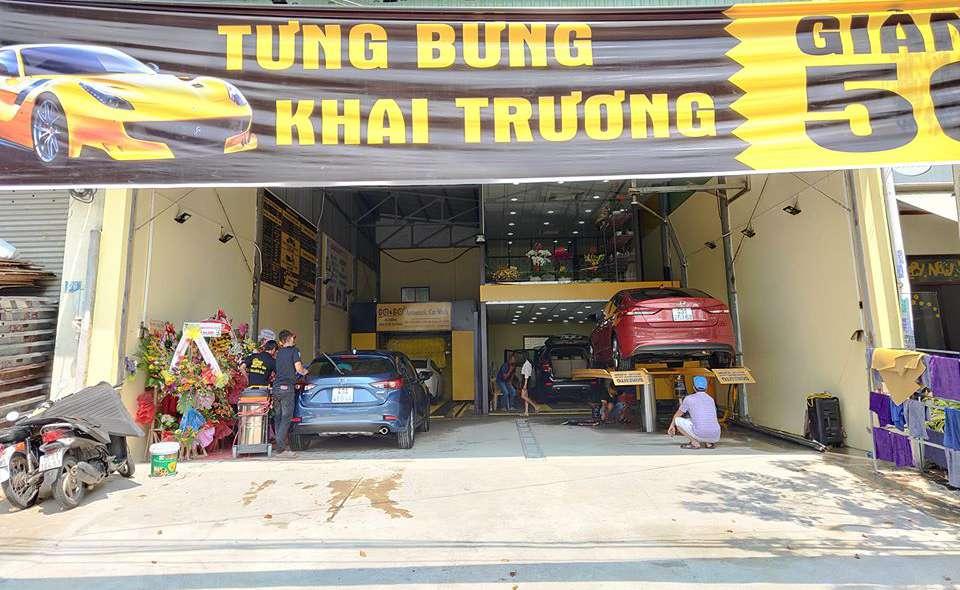 mở tiệm rửa xe tự động
