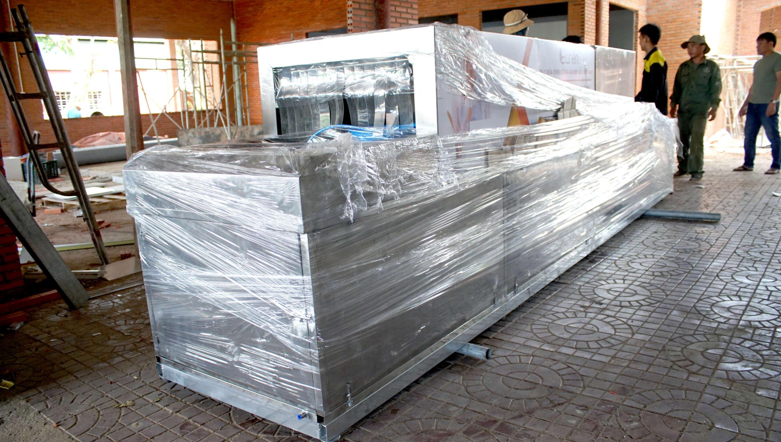 Caren lắp đặt máy rửa chén theo yêu cầu kích thước & quy mô của khách hàng