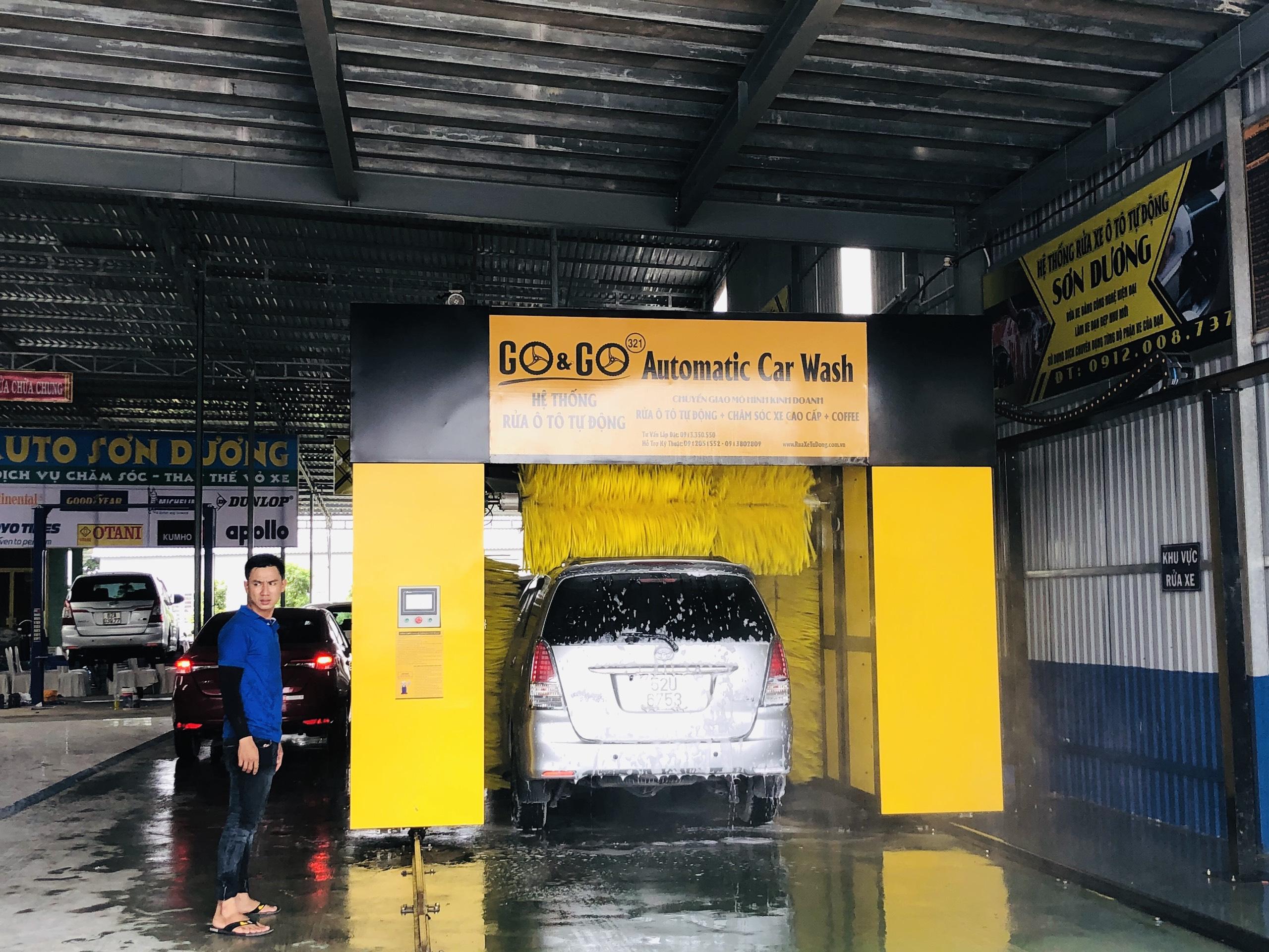 Mở tiệm rửa ô tô