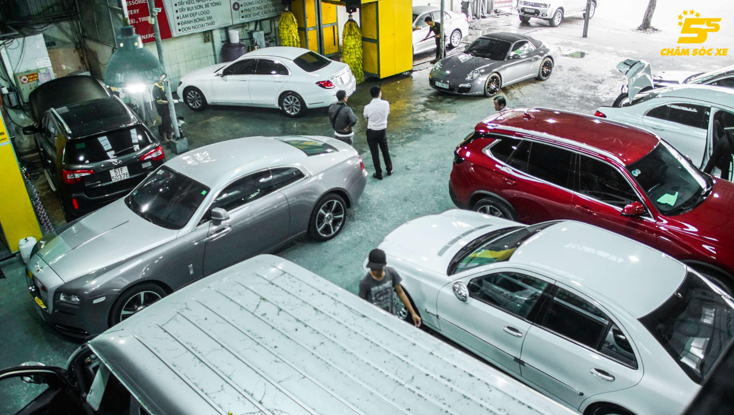 Mở Tiệm Rửa Ô tô tự động